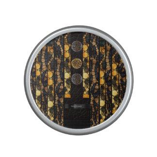 Gold Brown Cheetah Leopard Speaker