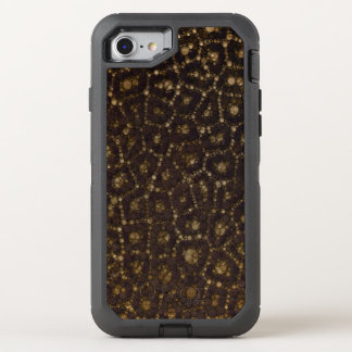 Gold Brown Cheetah OtterBox Defender iPhone 7 Case