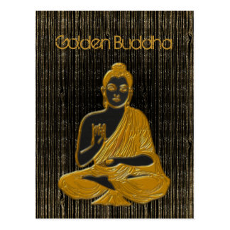 gold Buddha Postcard