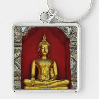 Gold Buddha Premium Keychain
