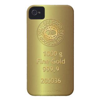 Gold Bullion Golden Style iPhone 4 Case
