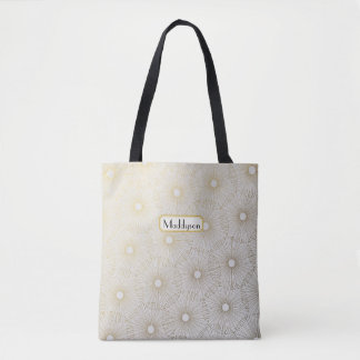 Gold Burst Tote Bag