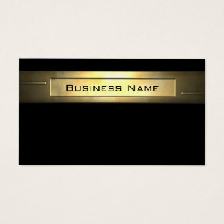 Gold Business 2 professional Business Card