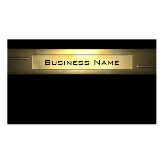 Gold Business 2 professionall Pack Of Standard Business Cards