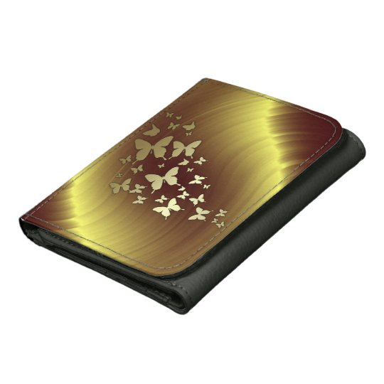 Gold & Butterflies Wallet