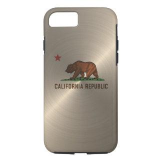 Gold California Republic iPhone 7 Case