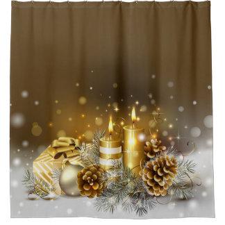 Gold Candles Christmas Elegant Holiday Home Decor