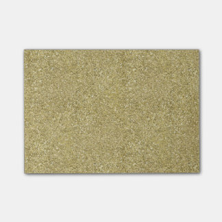 Gold Canvas Post-it Notes