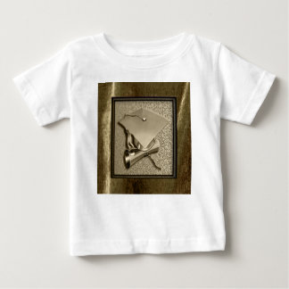 Gold Cap and Diploma on Gold Baby T-Shirt