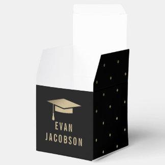 Gold Cap EDITABLE COLOR Graduation Party Favour Wedding Favor Boxes