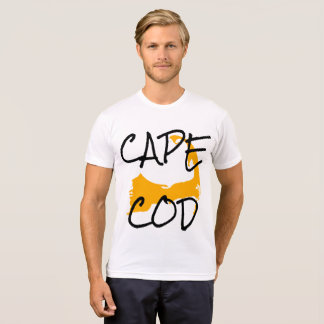 Gold Cape Cod Massachusetts shirt