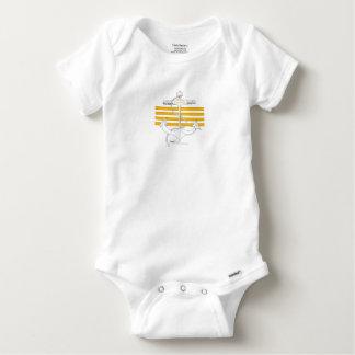 gold captain, tony fernandes baby onesie