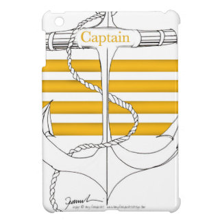 gold captain, tony fernandes iPad mini cover