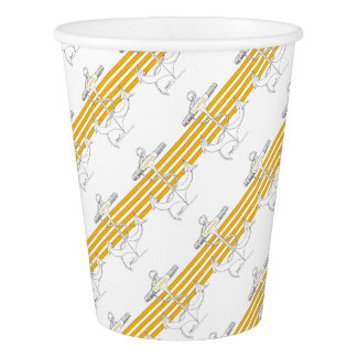 gold captain, tony fernandes paper cup