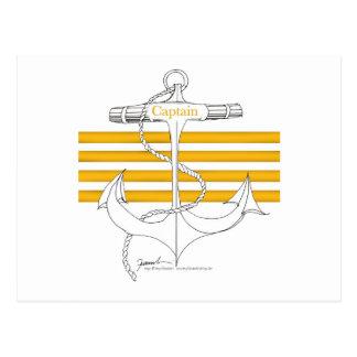 gold captain, tony fernandes postcard