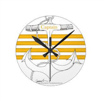 gold captain, tony fernandes round clock