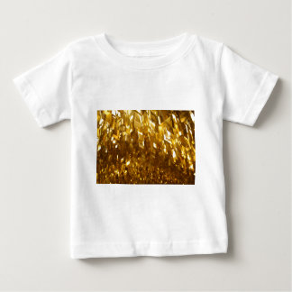 Gold Ceiling Abstract Art Baby T-Shirt