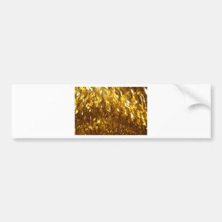 Gold Ceiling Abstract Art Bumper Sticker