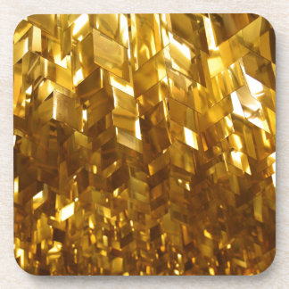 Gold Ceiling Abstract Art Coaster