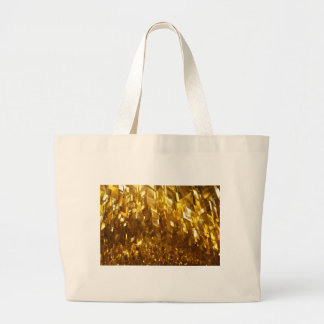 Gold Ceiling Abstract Art Large Tote Bag