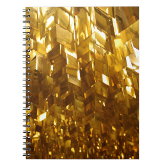 Gold Ceiling Abstract Art Notebook