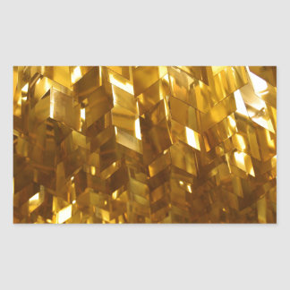 Gold Ceiling Abstract Art Sticker
