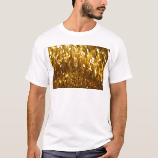 Gold Ceiling Abstract Art T-Shirt