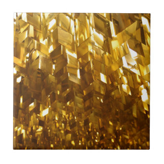 Gold Ceiling Abstract Art Tile