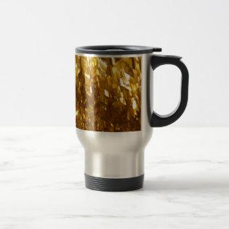 Gold Ceiling Abstract Art Travel Mug