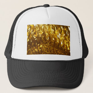 Gold Ceiling Abstract Art Trucker Hat
