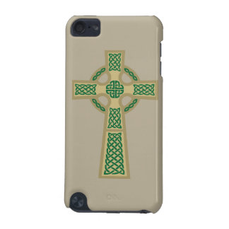 Gold Celtic Cross iPod Touch Case