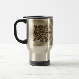 Gold Celtic Knot Original Design Travel Mug