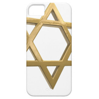 gold chanukkah star of david iPhone 5 case