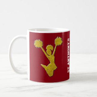 Gold Cheerleaders Coffee Mug
