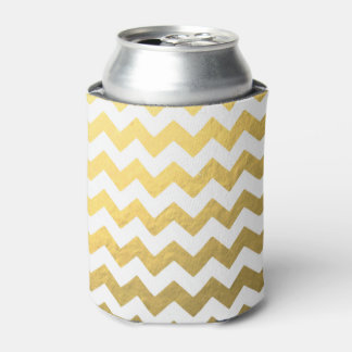 Gold Chevron Coozie