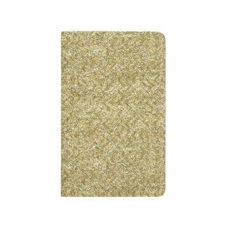 gold chevron journal