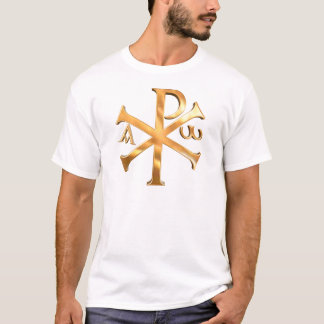 Gold Chi-Rho T-Shirt