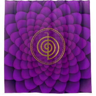 Gold  Choku Rei Symbol on lotus