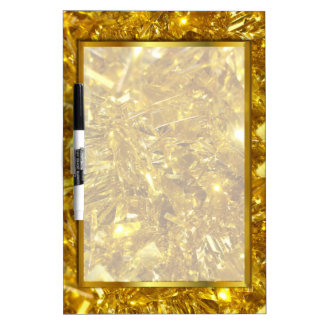 GOLD CHRISTMAS GIFT, GOLD DRY ERASE BOARD