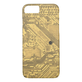 Gold Circuit Board iPhone 8/7 Case