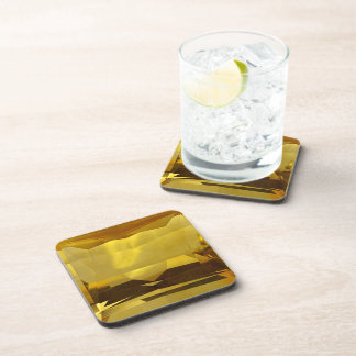 Gold Citrine Coaster