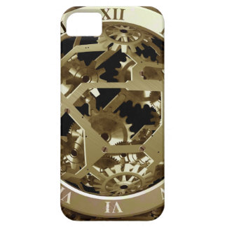 Gold Clocks and Gears Steampunk Mechanical Gifts iPhone 5 Cases