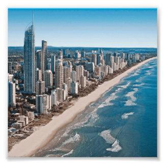 Gold Coast Australia Aerial View Photograph