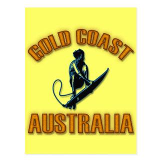 GOLD COAST AUSTRALIA POSTCARD
