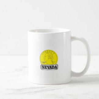 Gold Coin of Nevada Coffee Mug
