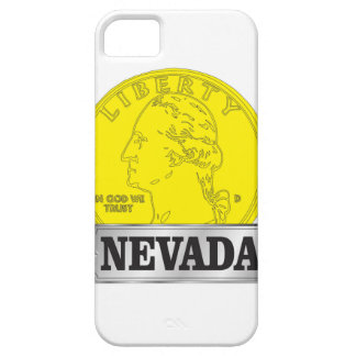 Gold Coin of Nevada iPhone 5 Case