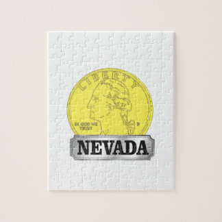 Gold Coin of Nevada Jigsaw Puzzle