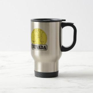 Gold Coin of Nevada Travel Mug