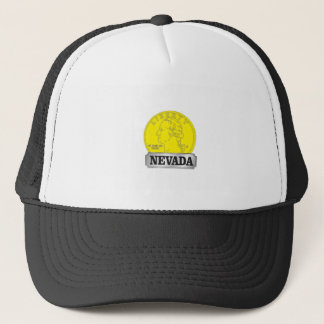 Gold Coin of Nevada Trucker Hat