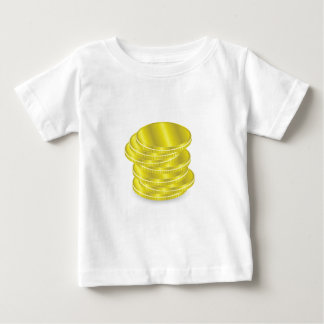 Gold Coins Baby T-Shirt